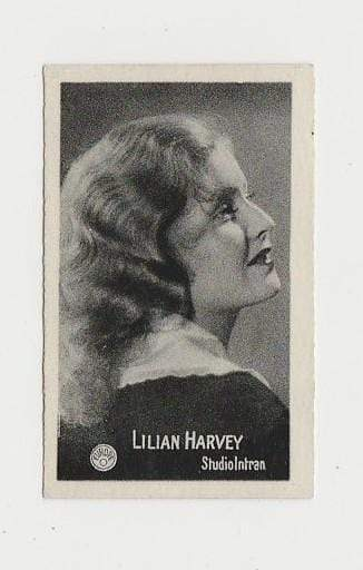 Lilian Harvey 1930s ALMONA Film Stars German Trading Card #52