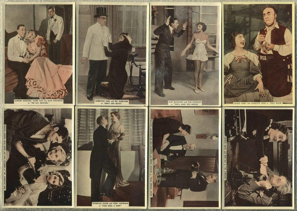 Lot of 22 - 1936 Ardath From Screen and Stage Tobacco Cards - Film Stars