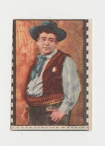 Lou Costello 1940s Paper Stock Trading Card - Film Frame Design AC#4 Italy
