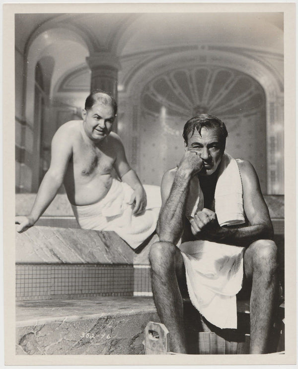 Gary Cooper + John McGiver 1957 STILL PHOTO 382-96 Love in the Afternoon