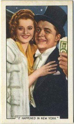 Lyle Talbot + Heather Angel 1936 Gallaher Film Episodes Tobacco Card #24