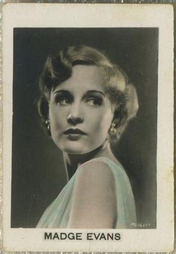 Madge Evans 1932 Orami Film Photos Series D Tobacco Card #364