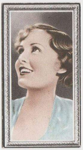 Madge Evans 1936 Godfrey Phillips Stars of the Screen Tobacco Card #46