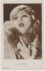 MAE MURRAY Vintage 1930s Estrellas del Cine #161 POSTCARD from Spain