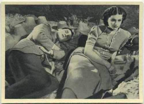 Margaret Lockwood + Hugh Williams 1940 Max Cinema Cavalcade Tobacco Card V1 #107