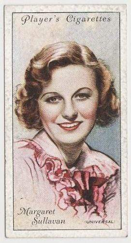 Margaret Sullavan 1934 John Player Film Stars Tobacco Card 2nd Series #44
