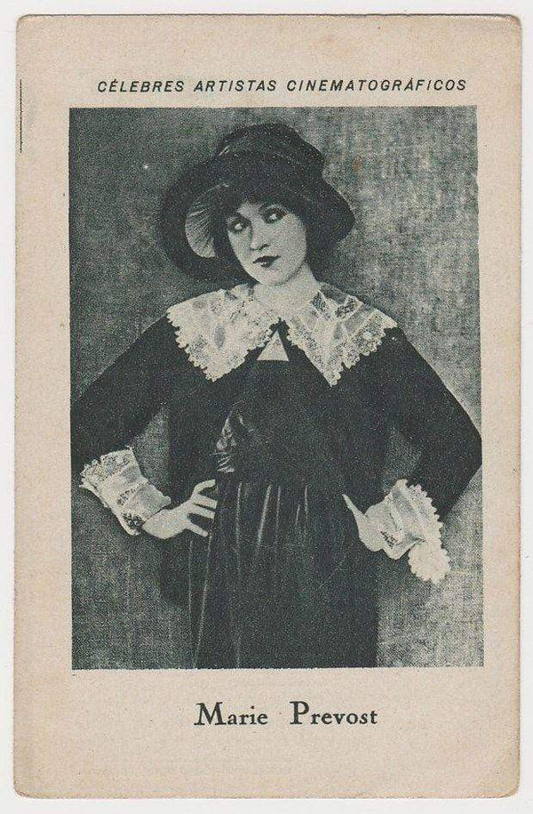 Marie Prevost 1920s Chocolate E JUNCOSA Trading Card from Spain C#5