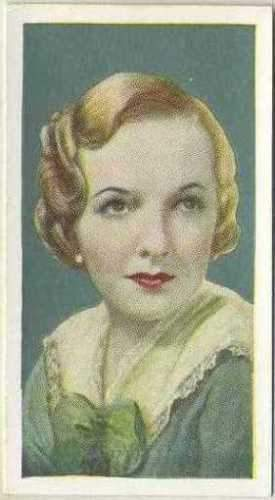 Marion Nixon 1934 Godfrey Phillips Film Favourites Tobacco Card #38