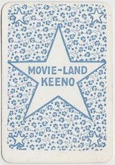 MARY BRIAN Vintage 1929 Wilder MOVIE-LAND KEENO Game Card