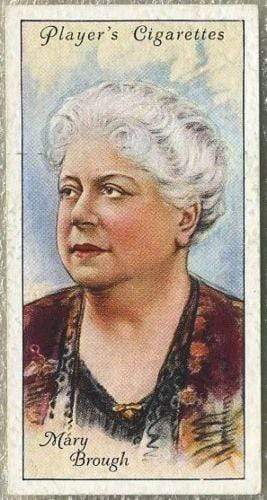 Mary Brough 1934 John Player Film Stars Tobacco Card 2nd Series #8