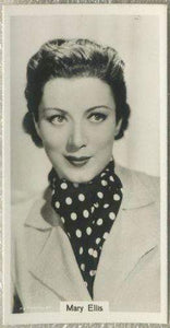 Mary Ellis 1939 RJ Lea Famous Film Stars Tobacco Card #10