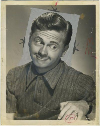 Mickey Rooney 1956 Date Stamped Press Photo with 1930s Image