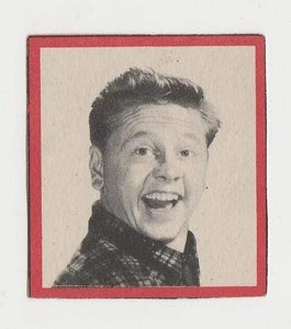 MICKEY ROONEY Enciclopedia Cultural de CHICOS Trading Card 1940s Spain #B-12