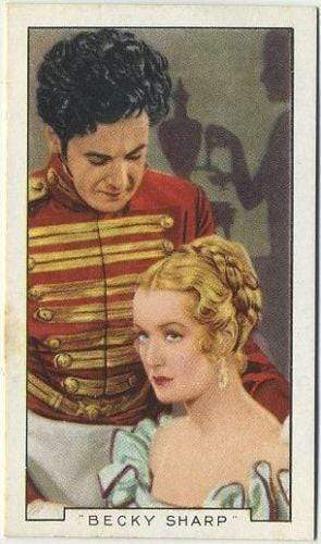Miriam Hopkins + GP Huntley 1936 Gallaher Film Episodes Tobacco Card #16