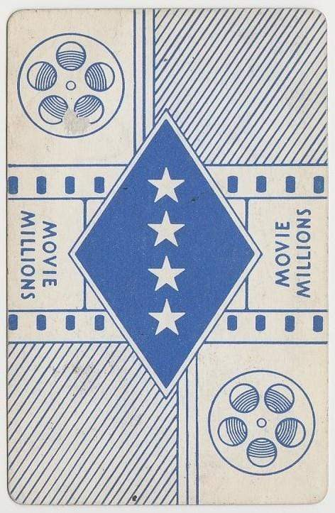 Mitchell Leisen 1938 Transogram Movie Millions Game Card - Film Director