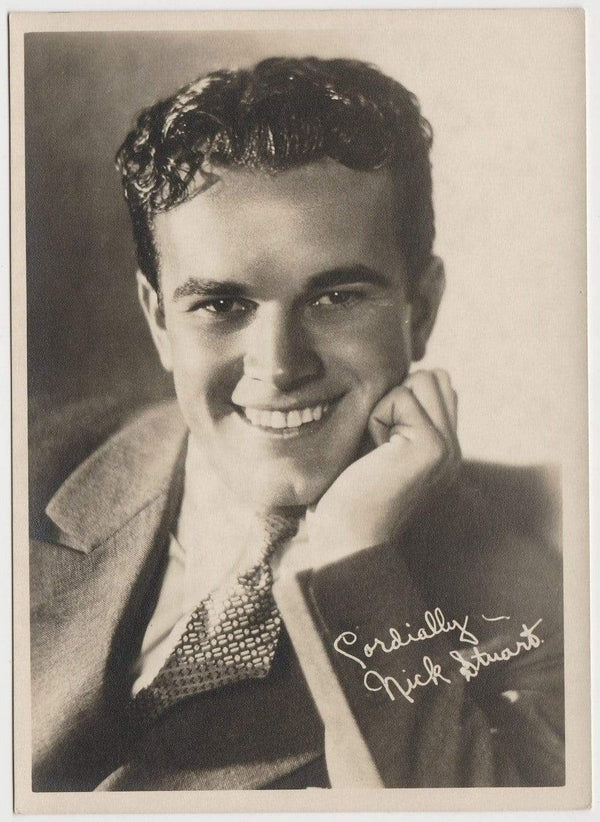 Nick Stuart Vintage 1920s Era 5x7 Movie Star Fan Photo