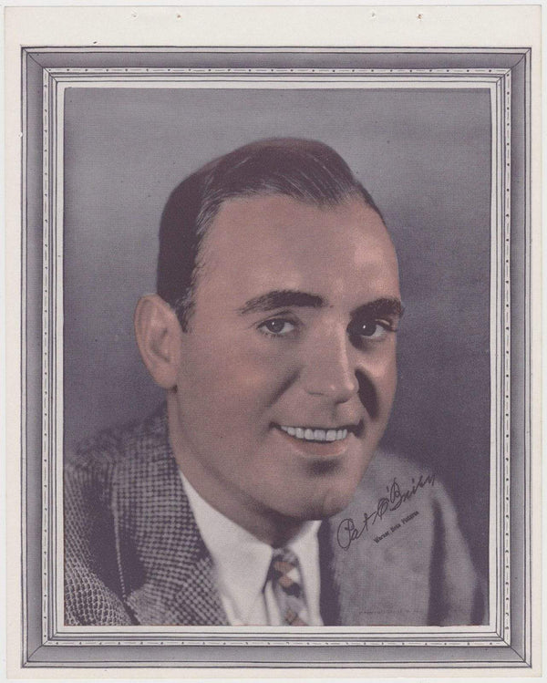 Pat O'Brien 1938 Vintage Color Toned Movie Star Premium Photo