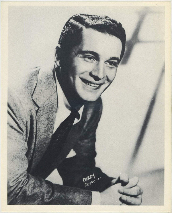 Perry Como circa 1954 Star Pictures Paper Premium Photo 7.5 X 9.5