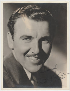 Preston Foster 1930s Aguila Large Paper Stock Trading Card #88