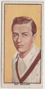 Ray Milland 1939 Mars Confections Famous Film Stars Trading Card #12