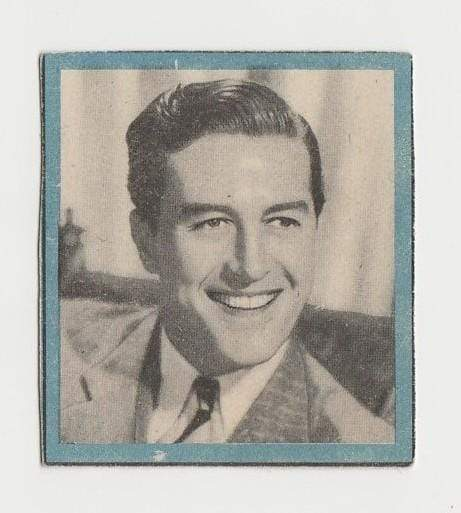 RAY MILLAND Enciclopedia Cultural de CHICOS Trading Card 1940s Spain #A-7