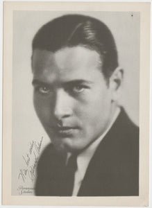 Richard Arlen 1934 Salem Goldfilm Movie Star Tobacco Card #408