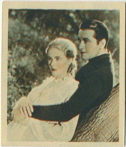 Richard Barthelmess + Jean Muir 1934 Godfrey Phillips Tobacco Card SFTF #46