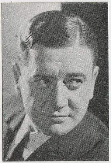 Richard Dix 1933 MOVIEBOOK CORP of New York Film Star Trading Card #25