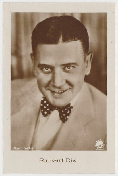 Richard Dix 1930s Jasmatzi Hansom German Tobacco Card #105