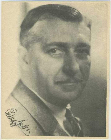 Richard Tucker 1920s Kashin Motion Picture Stars Large Trading Card W618