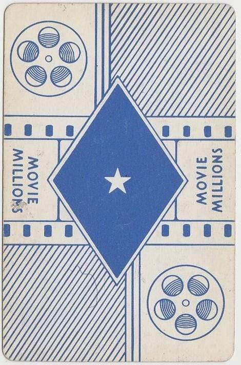 Richard Wallace 1938 Transogram Movie Millions Game Card - Film Director