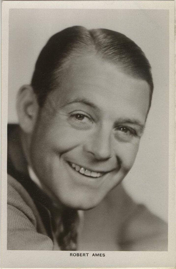 Robert Ames 1930s Real Photo Postcard - Picturegoer #490 Movie Star RPPC