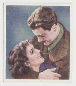 Robert Donat + Jean Parker 1939 Godfrey Phillips Tobacco Card FLS #11