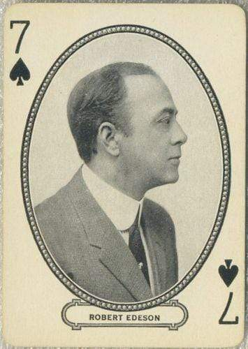 Robert Edeson 1916 MJ Moriarty Silent Film Star Playing Card