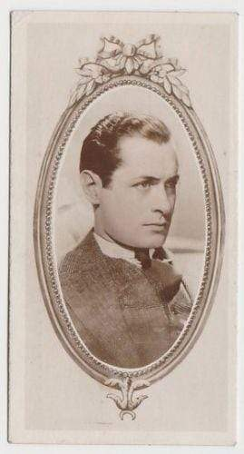 Robert Montgomery 1934 Godfrey Phillips Stars of the Screen Tobacco Card #9
