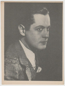 Robert Montgomery 1939 Mars Confections Famous Film Stars Trading Card #19