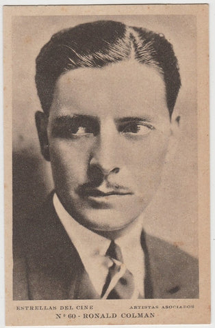 Ronald Colman 1935 R95 8x10 Linen Textured Premium Photo -MAN WHO BROKE THE BANK