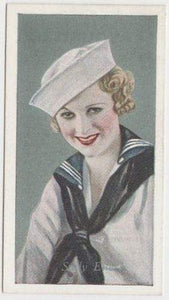 Sally Eilers 1934 Godfrey Phillips Film Favourites Tobacco Card #17