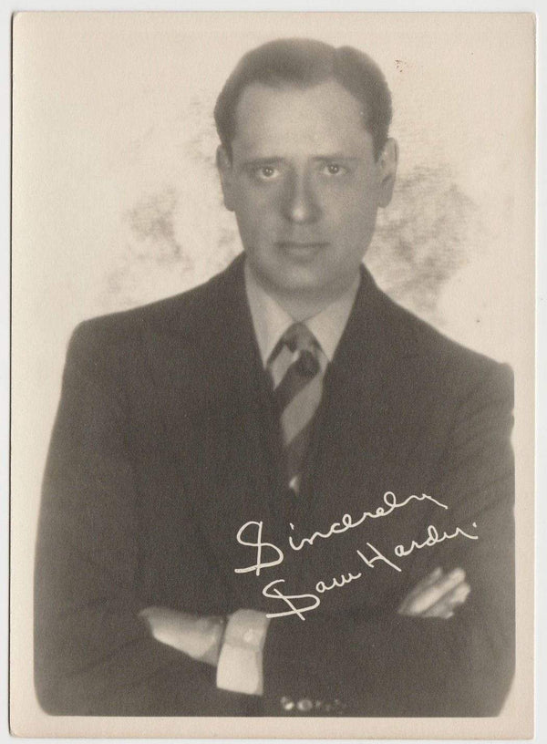 Sam Hardy Vintage 1920s Era 5x7 Movie Star Fan Photo of Character Actor
