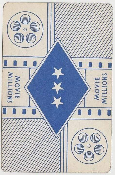 Sam Wood 1938 Transogram Movie Millions Game Card - Film Director