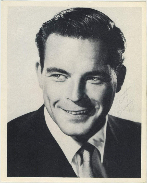 Scott Brady circa 1954 Star Pictures Paper Premium Photo 7.5 X 9.5