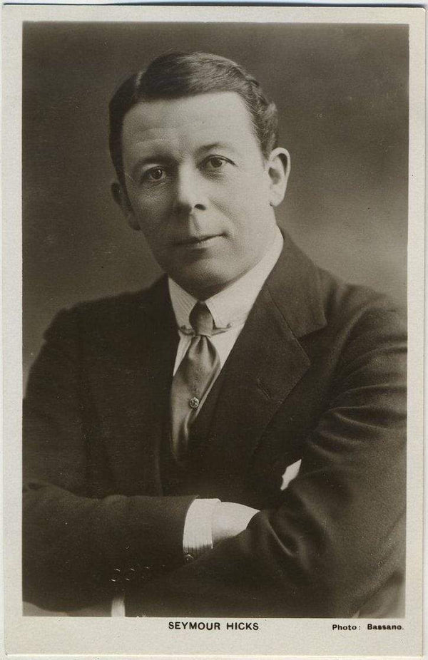 Seymour Hicks 1930s Real Photo Postcard - Picturegoer #T13 Movie Star RPPC