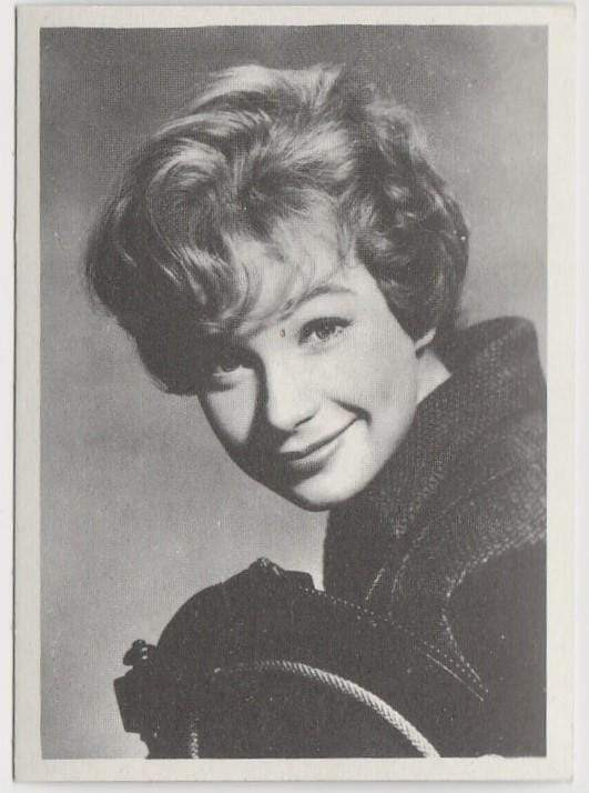 Shirley MacLaine 1959 MGM Film Stars Trading Card from Italy #66 ASK ANY GIRL