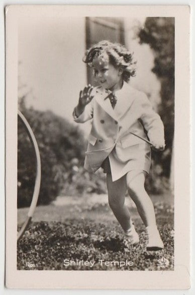 Shirley Temple 1930s Vintage ROSS Film Stars Real Photo Trading Card #32