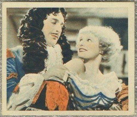 Sir Cedric Hardwicke + Anna Neagle 1934 Godfrey Phillips Tobacco Card SFTF #35