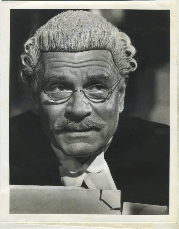 Sir Laurence Olivier 1975 ABC 7x9 Press Photo with Dated Press Tag