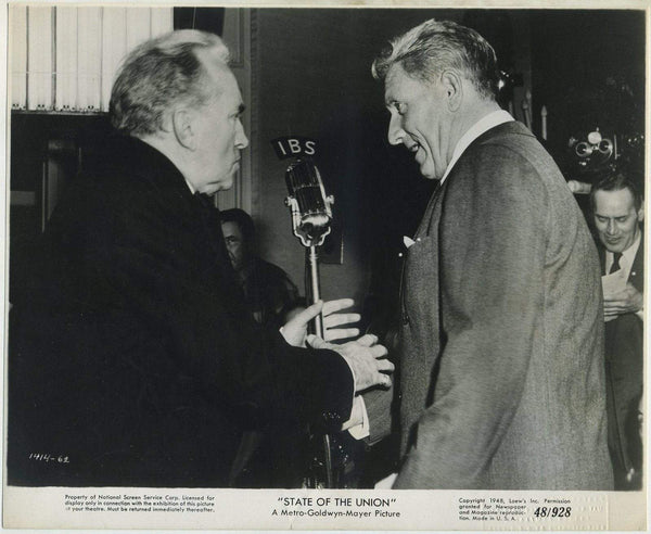 Spencer Tracy 1948 Still Photo for THE STATE OF THE UNION w/NSS Stamp