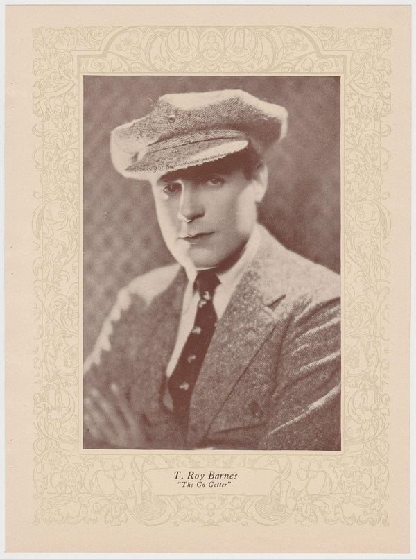 T Roy Barnes 1923 MPDA Popular Film Folk 8 X 10.75 Printed Photo