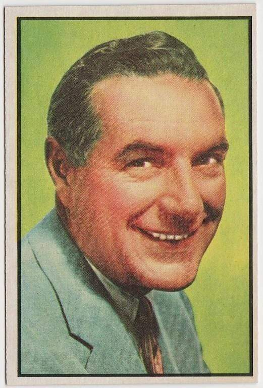 Ted Mack 1953 BOWMAN Television and Radio Stars of NBC Trading Card #46