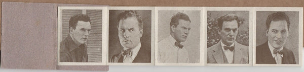 Thomas Meighan 1920s Juncosa Tall PAPER STOCK Trading Card #C-12